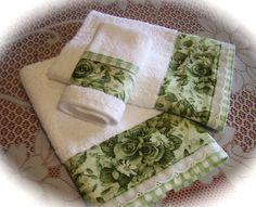 Bathroom towel set for Nora. | Flickr - Photo Sharing!