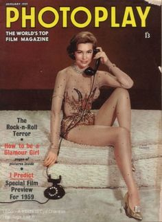 Cyd Charisse is on the phone! Star Magazine, Movie Magazine, Vintage Hollywood, Classic Hollywood, Arlene Dahl, Vera Ellen, Cyd Charisse, Star Costume, Top Film