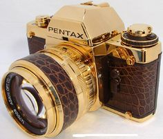 Pentax unveils shiny LX Gold SLR to celebrate 60 years