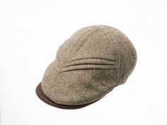 Twice tuck unbalanced hunting cap www.omae.co/shop/brownhat
