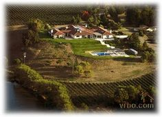 Large Vineyard Estate Home/Guest Suite/Private Lake  Sebastopol, California Vacation Rental by Owner Listing 329258