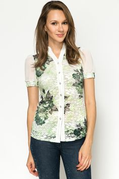 Floral Lace Blouse @ Everything5pounds.com