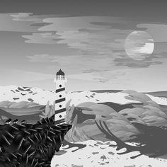 Martynas Pavilonis / Illustration / Lighthouse