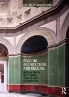 Mhairi McVicar / (chapter in) Reading architecture and culture: researching buildings, spaces and documents
