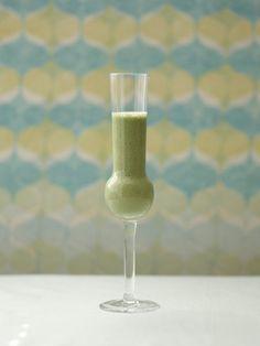 Recipe : Banana, Spinach, and Amazake Smoothie/ほうれん草とバナナのスムージー甘酒