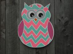 Owl door hanger Summer door art Door Art by JackJacksWayart
