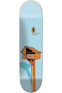 Cory Kennedy Letterbox OG Skateboard Deck by Girl