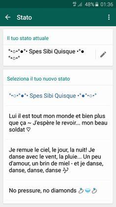 #WhatsApp #Screen ~ I like using various languages 😆 #Status #Update #quotes ♡
