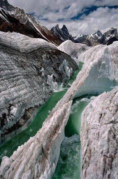 Baltoro Glacier, Pakistan: