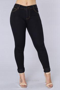 Total Package Jeans - Black/Brown