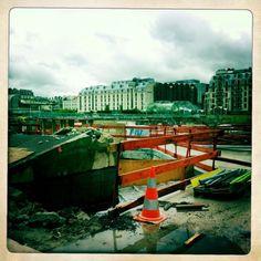 #Minitl suit en voisin le chantier des Halles de Paris