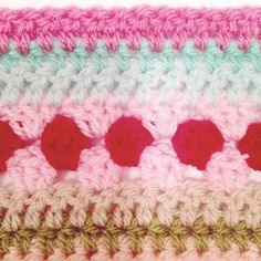 as-we-go stripey blanket – not your average crochet Striped Crochet Blanket, Crochet Blanket Edging, Plaid Crochet, Crochet For Beginners Blanket, Crochet Cushion Pattern, Crotchet Patterns, Crochet Basket Pattern, Afghan Crochet Patterns, Scrap Yarn Crochet