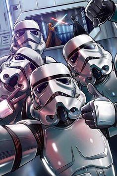 Star Wars: Stormtroop er Selfie