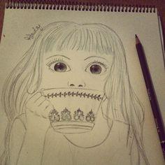 Alice in wonderland drawing #sketch #fairytale