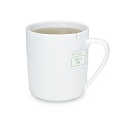This mug features a built-in tab for anchoring your tea bag. 20.00