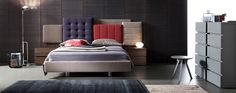 """Nuova collezione """"Dinotte"""". #itesoricolonbiali #arredamenti #letti #reggioemilia #camere #bed #design #rossetto #moderno #homestaging"""