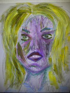 Böse Blondine