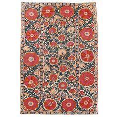 Antique Suzani Textile - Mid 19th Century