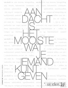 Aandacht is het mooiste wat je kunt geven.    Bron: Tessa Koudijs ( Libelle) | Aandachtmagazine.nl