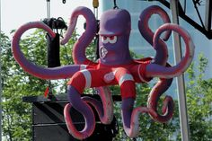 Al the Octopus - Detroit Red Wings Mascot