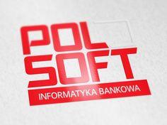 Lifting logotypu dla POLSOFT. #logo #marketing #reklama #logotyp