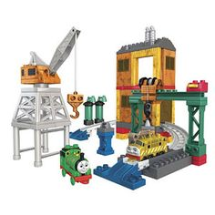 MEGA Bloks Thomas & Friends Day at the Dieselworks
