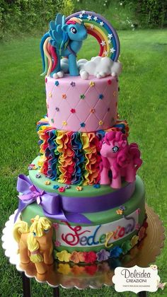 Torta My little pony - My little pony cake