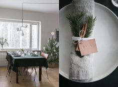 Nordic christmas home Nordic Christmas, Christmas Home, Scandinavian Home, Oversized Mirror, Table Settings, Interior, Furniture, Home Decor, Decoration Home