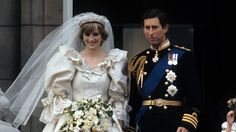 Wedding of Charles Prince of Wales and Lady Diana Spencer | Prince Charles and Princess Diana, on the balcony of Buckingham Palace ...