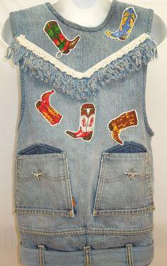 #vintage #Levis #fringe #vest #western #cowboy #cowgirl #halloween2017