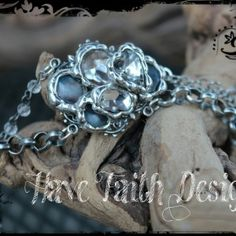 """""""Sounds of the Sea"""" bracelet by Have Faith Designs"""