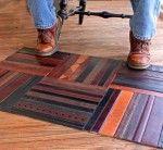 коврик своими руками из кожаных поясов Crochet Carpet, Patterned Carpet, Interiores Design, Interior Decorating, Interior Ideas, Diys, Handmade, Leather, Furniture