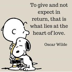 I love this sweet Charlie Brown and Snoopy :) - Peanuts Snoopy Quotes Love, Peanuts Quotes, Snoopy Love, Cute Quotes, Funny Quotes, Charlie Brown Quotes, Charlie Brown And Snoopy, Phrase Choc, Snoopy Pictures