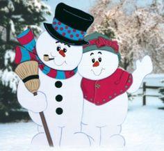 CYD-98 - Snowy Hug Pattern