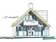 Schuurwoningen worden steeds populairder. Kenmerkend voor de schuurwoning is de eenvoudige hoofdvorm en soberheid in detaillering. Grote glaspartijen zijn kenmerkend voor dit type woningen.