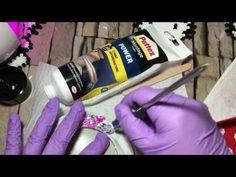 Betongießen Mosaik Kerzenständer DIY - YouTube
