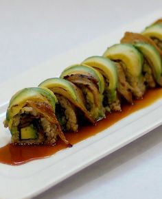 Organic Vegan Sushi - yes, it exists! and it's delicious <3  at Shojin, Los Angeles