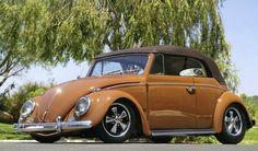 Volkswagen Beetle convertible.