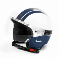#RideColorfully but also remember to ride safely! Here's my pick: VESPA GTS HELMET WHITE+BLUE/BLUE LEATHER. Also reminds me of Artoo! ;-) #StarWars