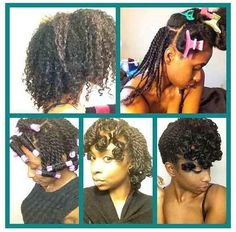 natural protective hairstyle