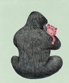 Hugs by Jimmy Liao
