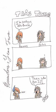 Marauders: This Time by FlickeringFireflies.deviantart.com on @deviantART--hahahahaha