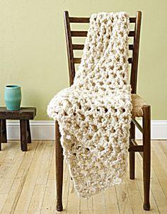 Crochet Kit: V-Stitch Lapghan (Image1)