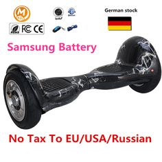Hoverboard electric scooter 10 inch 2 Wheels Smart Balance Scooter Hover board Standing Smart wheel Motorized Adult big tire