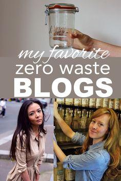 My favorite zero waste bloggers from http://www.goingzerowaste.com