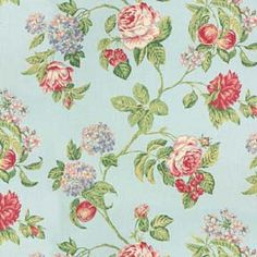 Fabric - Floral Bounty - Blue