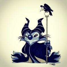 Maleficent Stitch
