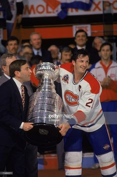 Canadian professional hockey player Guy Carbonneau , center for the. Hockey Goalie, Hockey Players, Ice Hockey, Montreal Hockey, Of Montreal, Montreal Canadiens, Stanley Cup, Nhl, Ken Dryden