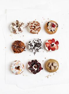 9 Decadent Donut Toppings @themerrythought