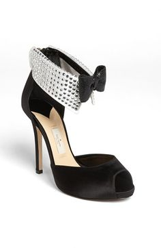 kate spade new york 'black tie' pump available at #Nordstrom, if anybody wants to start a fund to donate money for me to buy these perfect shoes, i'd basically love you forever. I WILL have these shoes